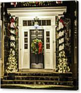 Christmas Door 2 Canvas Print