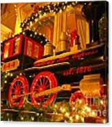 Christmas Express Canvas Print