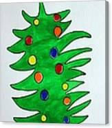 Christmas Fir-tree Canvas Print