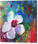 Christmas Flowers For Mom 02 Canvas Print