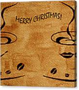 Christmas Greeting Canvas Print
