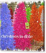 Christmas In Dixie Canvas Print