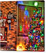 Christmas In Hdr Canvas Print
