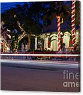 Christmas In Key West Canvas Print