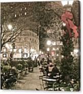 Christmas In Manhattan Canvas Print