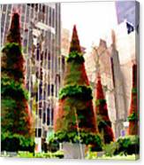 Christmas In New York City Canvas Print