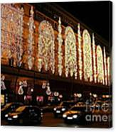 Christmas In Paris - Gallery Lights Canvas Print