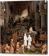 Christmas In Santo Stefano Canvas Print