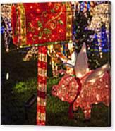 Christmas Mailbox Canvas Print