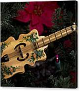 Christmas Music Canvas Print