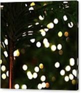 Christmas Palm Canvas Print