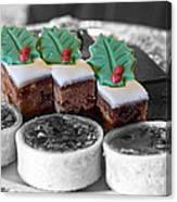 Christmas Pastries Canvas Print