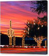 Christmas, Phoenix, Arizona, Usa Canvas Print