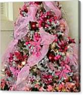 Christmas Pink Canvas Print