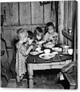 Christmas Poor, 1936 Canvas Print