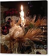 Christmas Shining Light Canvas Print