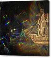 Christmas Ship Canvas Print