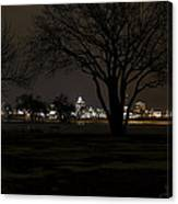 Christmas Skyline Canvas Print
