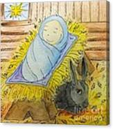 Christmas Story Illustration Canvas Print
