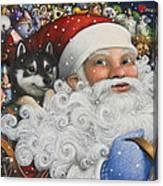Christmas Stowaway Canvas Print