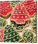 Christmas Sugar Cookies Canvas Print