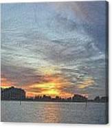 Christmas Sunset 3 Canvas Print