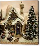 Christmas Toy Village Canvas Print