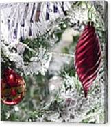 Christmas Tree Baubles Canvas Print