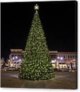 Christmas Tree Hampton City Center  Canvas Print