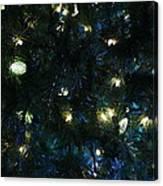 Christmas Tree Lights Canvas Print