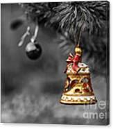 Christmas Tree Ornament Canvas Print