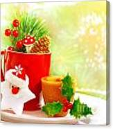 Christmas Utensil Set Canvas Print