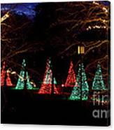 Christmas Wonderland Walk Canvas Print