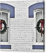 Christmas Wreaths  Canvas Print