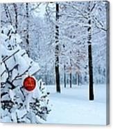 Christmasland Canvas Print