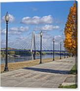 Christopher S. Bond Bridge Canvas Print
