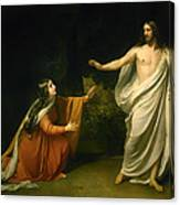 Christs Appearance To Mary Magdalene After The Resurrection Canvas Print