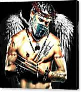 Christy Angel Mask Canvas Print