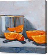 Chrome And Oranges Canvas Print