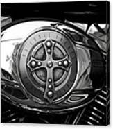 Chrome Cross - 96 Cubic Inches Canvas Print