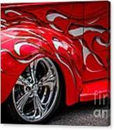 Chrome Red Canvas Print