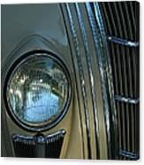 Chrysler Airflow Canvas Print
