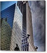 Chrysler Building From Below Canvas Print
