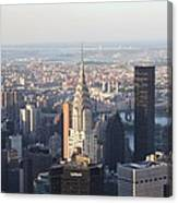 Chrysler Building From The Empire State Building Canvas Print