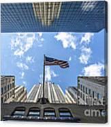 Chrysler Building Reflections Horizontal Canvas Print