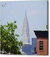Chrysler Building View Canvas Print