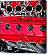 Chrysler Fire Power Canvas Print