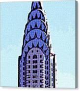 Chrysler Spire Nyc Usa Canvas Print