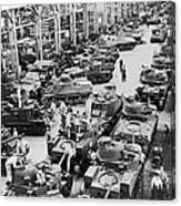 Chrysler Tank Plant Canvas Print