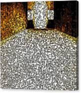 Chubby Cross 2 Canvas Print